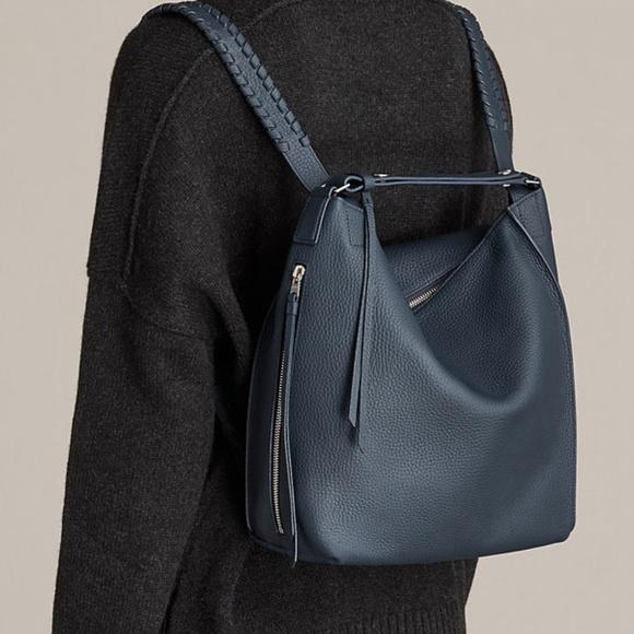 fdd404efe2 All Saints Handbags - AllSaints Kita Small Backpack - Marine Blue